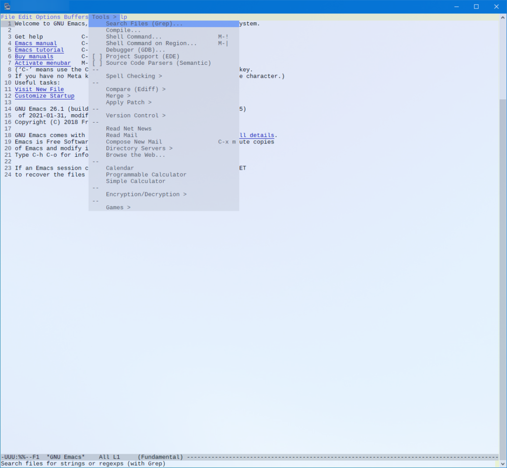 Emacs in action